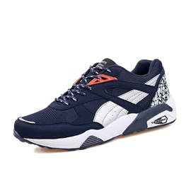 Mesh Lace-Up Round Toe Sale Men's Sneakers