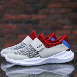 Mesh Velcro Patchwork Men's Sneakers