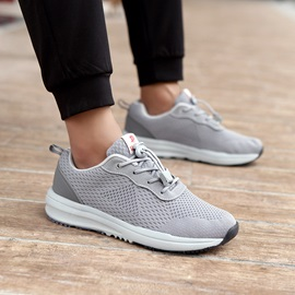 Mesh Elastic Band Breathable Sneakers For Men