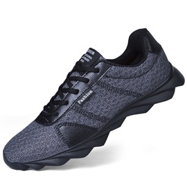 Mesh Round Toe Low-Cut Upper Men's Breathable Sneakers