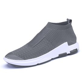 Mesh Plain Mid-Cut Upper Women's Sneakers