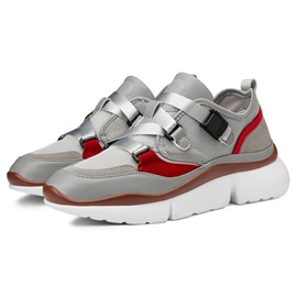 Patchwork Low-Cut Upper Men's Chic Sneakers