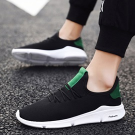 Lace-Up Sports Flat Mesh Men's Sneakers
