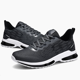 Lace-Up Sports Low-Cut Upper Men's Running Shoes