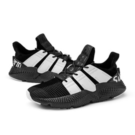 Sports Low-Cut Upper Lace-Up Mesh Men's Running Shoes