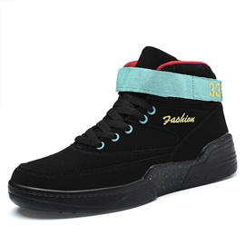Velcro Simple High Top Men