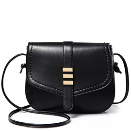 Plain Korean Snap Cover Cross Body