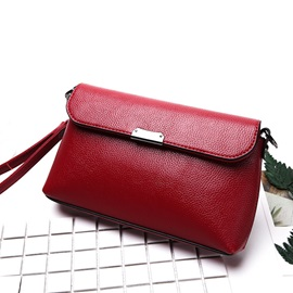 Mini Cross Section Zip Fastener PU Crossbody Bag
