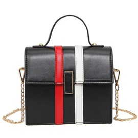 All Match Color Block Crossbody Bag