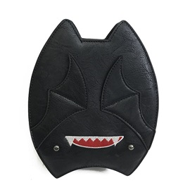 Distinctive Cartoon Bat Design Crossbody Bag