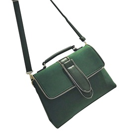Vintage Matting PU Cross Body Bag