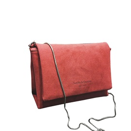 Simple Plain Mini Cover Crossbody Bag