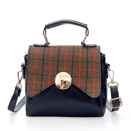 Casual Plaid Mini Women Crossbody Bag