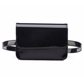 Dazzling Sequins Chain Women Waist Bag