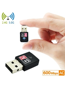 Dual-band Wireless Network Card 5.8G Mini USB Computer Wifi Receiver Transmitter