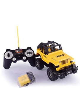 E651-005 Jeep Wrangler Toy Car for Children 1:18 Scale Remote Control Model Jeep Car