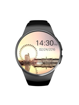 KW18 Smart Watch Waterproof Heart Rate Monitor Support SIM/WhatsApp/Facebook for Apple/Android
