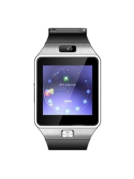 Bluetooth Smartwatch DZ09 GSM Single SIM Card with Camera Sleep Monitor for Android IOS Phones