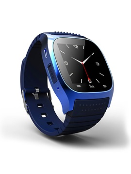Bluetooth Sport Smart Watch Wristwatch M26 Luxury Wrist Watch with Dial SMS Remind Pedometer for Andriod Phone