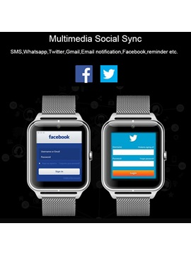 Bluetooth Smart Watch Z50 IPS Screen with Camera Support Wearable Tech for iPhone Android