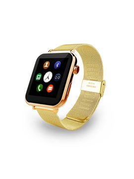 A9s Bluetooth Smart Watch with Stainless Steel Strap Activity Monitor for Apple Samsung Android Phones