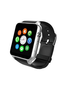 GFT 1.5 Inch All Compatible 128MB ROM Passometer Heart Rate Monitor Smart Watch