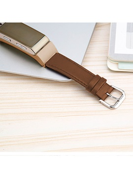Golden Rectangle Touch-Screen Passometer Smart Reminder Unisex Smart Bracelet