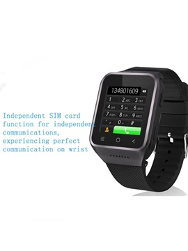 X01 Android Smart Watch Phone MTK 6572 Dual core 1.54 Screen 4GB ROM SIM card Bluetooth 3G WIFI Camera GPS