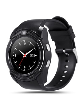 V8 Bluetooth Smart Watch with Camera Support TF/SIM Card for Android Phones