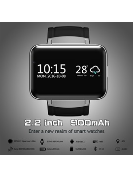 DM98 Smart Watch Phone Support Video Call with 2.2-Inch Big Screen GPS Precision Navigation