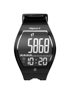 ISPORT E-INK Curved Screen Bluetooth Smart Watch Support Waterproof for Samsung/Sony/Huawei/IPhone