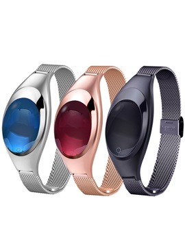 Z18 Luxurious Jewelry Style Women Smart watch Support Blood-oxygen & Blood Pressure Measurement