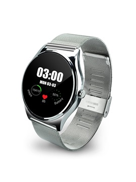 HW03 Metal Band Smart Watch Support Heart Rate Monitor for Apple Samsung Huawei Sony