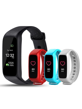 L30T Sport Bracelet Support Call/Message Display & Heart Rate Monitor Smart Watch for Apple Samsung Sony