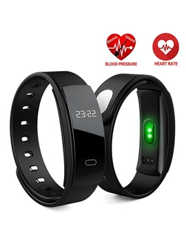 QS80 Smart Watch Waterproof Bluetooth Fitness Tracker Support Apple Samsung Sony Huawei Phones