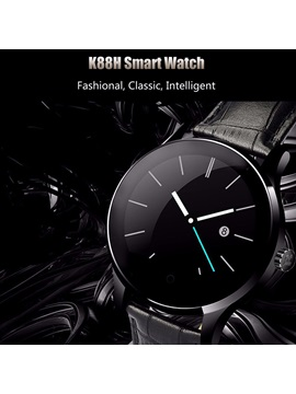 K88H Bluetooth Smart Watch Heart Rate Monitor for Android and IOS