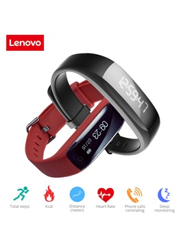 LENOVO HW01 Smart Bracelet Activity Monitor Sport Smart Watch for Samsung Android & Apple IOS Cell Phones