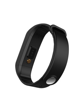Pop W4S Fitness Tracker Waterproof Dynamic Heart Rate Body Temperature Monitor for Apple Android Phones