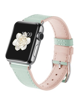 Genuine Leather Apple Watch Band Smart Watch Strap for Apple Watch 3/2/1