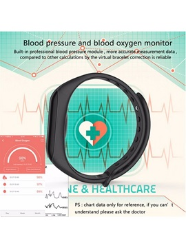 Cheap F1 Fitness Tracker Waterproof Heart Rate Blood Pressure Monitor