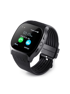 2017 Cheap T8 Smart Watch Phone with SIM Slot/HD Camera for Apple Android Phones