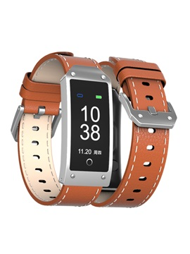 Smart Watch Band Leather Strap for IOS Android