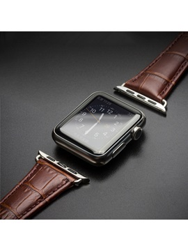 Smart Watch Band Genuine Leather Anti-sweat for Apple Watch 3/2/1