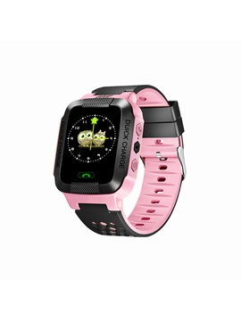 Y21 Children Kid Smart Phone Watch Touch Color Screen LBS SOS Call Location Anti-lost Tracker for Boys Girls