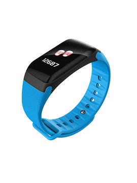 F601 Smart Watch Bracelet IP67 F1 Plus Color Screen Blood Pressure Heart Rate Monitor