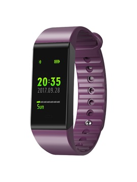 W6S Color Smart Bracelet IP67 Waterproof Multi-Sport Heart Rate Blood Pressure Monitor for Android iOS