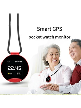 S9 Smart Pocket Watch 1.22 inch Color Screen GPS Positioning Micro Sim-Card SOS Smartphone