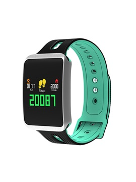 TF1 Sports Smart Watch Bracelet IP68 Waterproof Bluetooth Multi-sport Mode Heart Rate BP Monitor