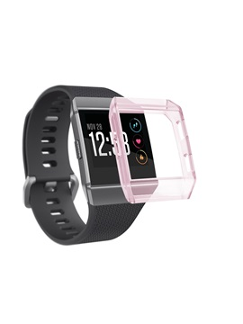 Fitbit Ionic Case,Shock-Proof Shatter-Resistant Rugged Slim Silicone TPU Cover Shell