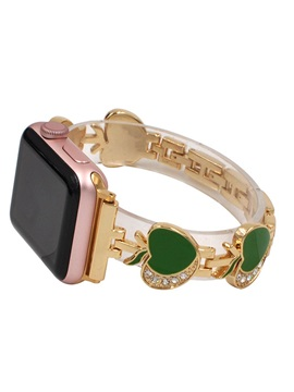 Metal Heart-shaped Fashion Watch Band for Apple Watch 1/2/3